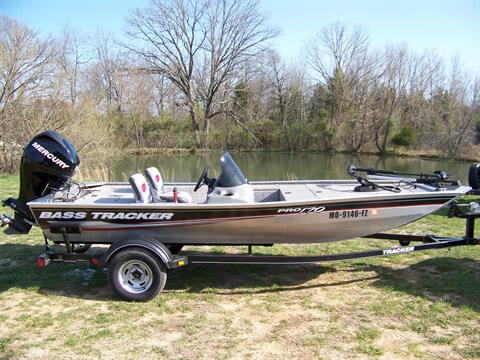 2015 Tracker BASS TRACKER PRO TEAM 170 W/ MERCURY 40 & TRAILER in West Plains, Missouri