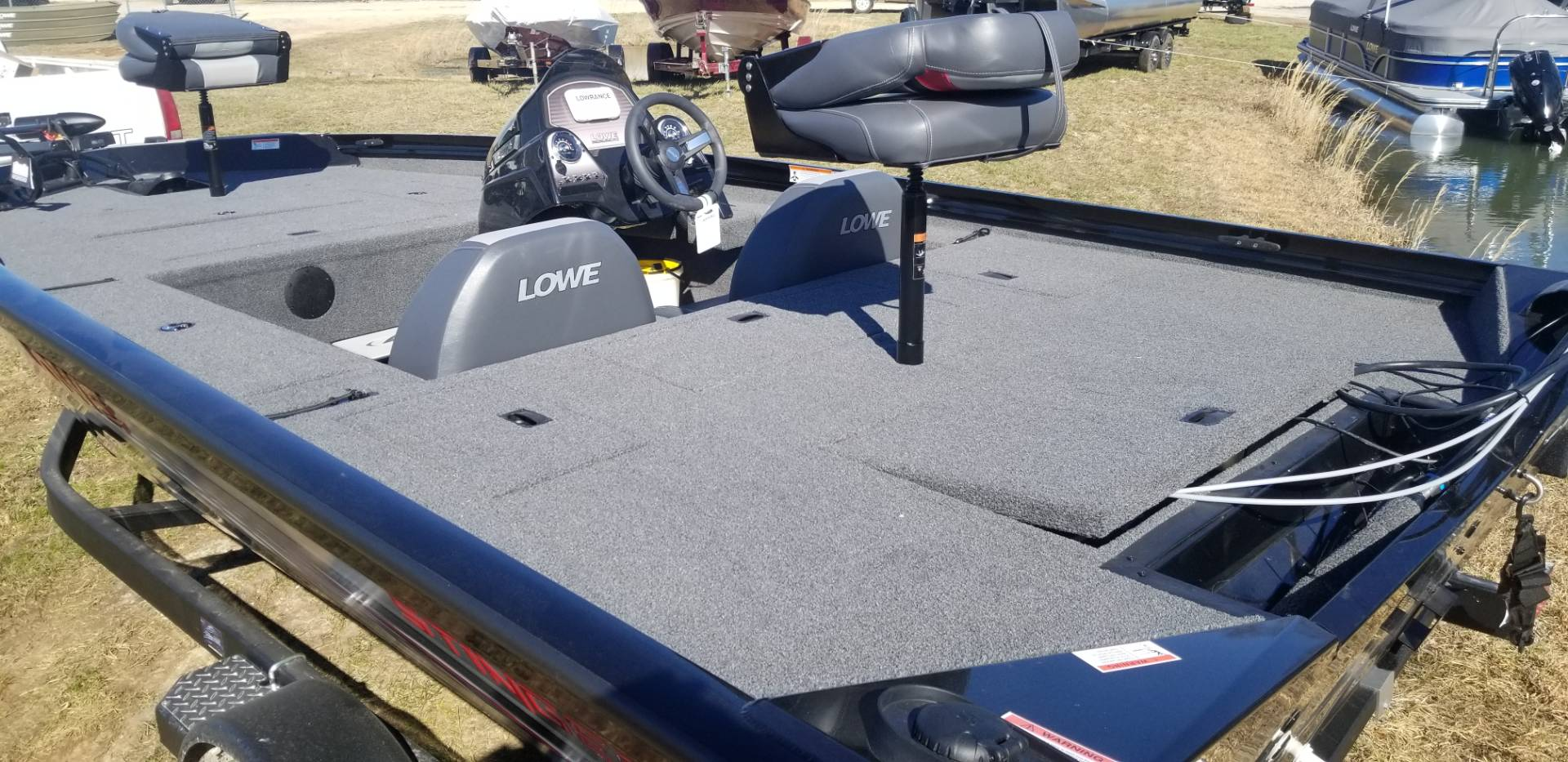 2019 Lowe STINGER 178 W/ MERCURY 90H 4S & TRAILER in West Plains, Missouri - Photo 12