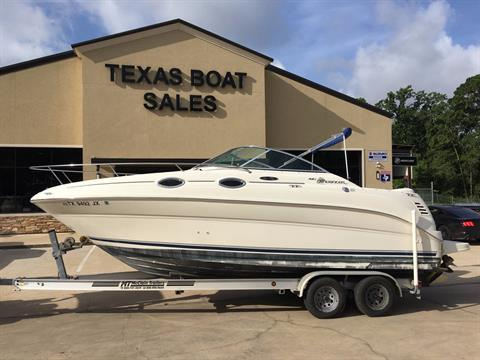 2003 Sea Ray 240 Sundancer in Willis, Texas