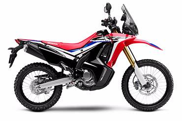 2017 Honda CRF250L Rally in Bedford, Indiana