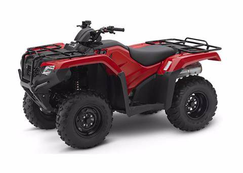2018 Honda FourTrax Rancher 4x4 in Bedford, Indiana