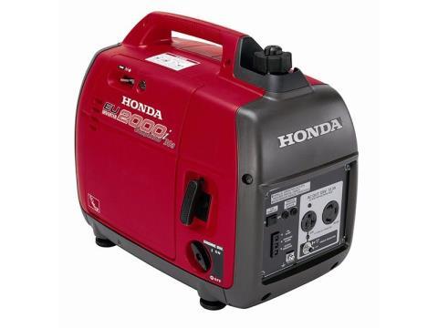 2016 Honda Power Equipment EU2000i Companion in Bedford, Indiana