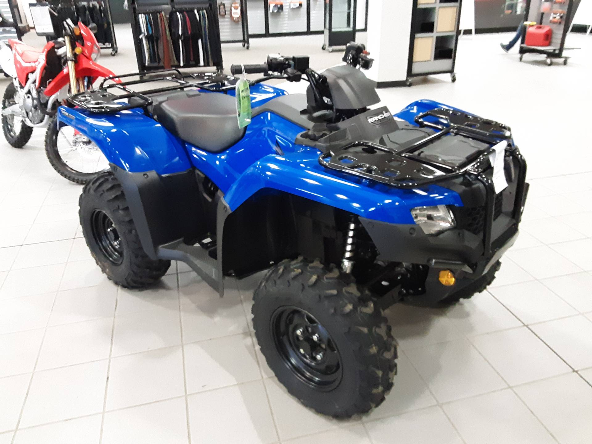2021 Honda RANCHER 4X4 AT IRS EPS in Salina, Kansas - Photo 3