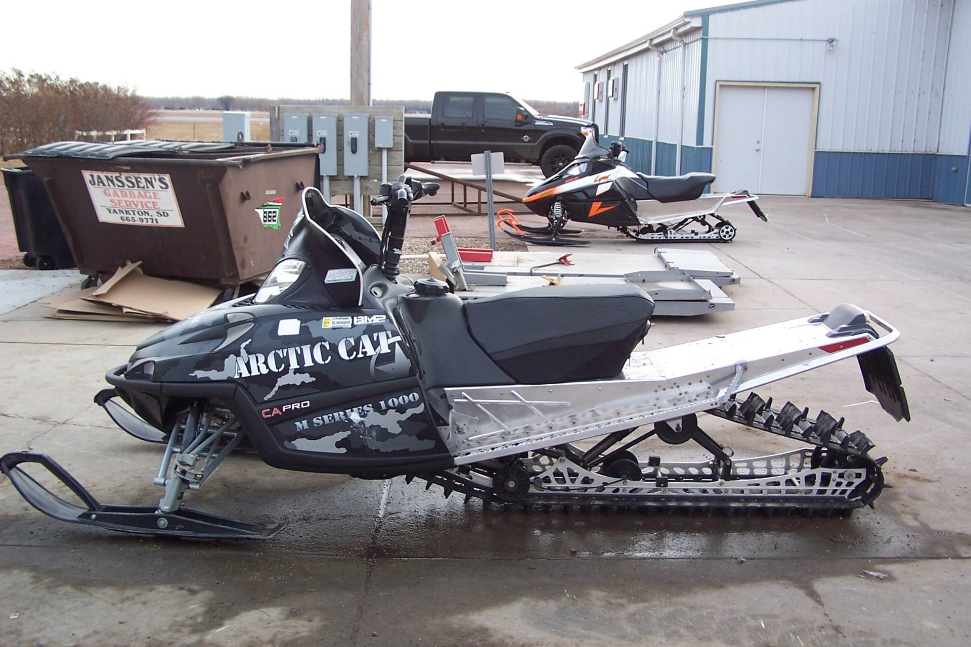 Used 2009 Arctic Cat M1000 162 Sno Pro Le Snowmobiles In Yankton Sd