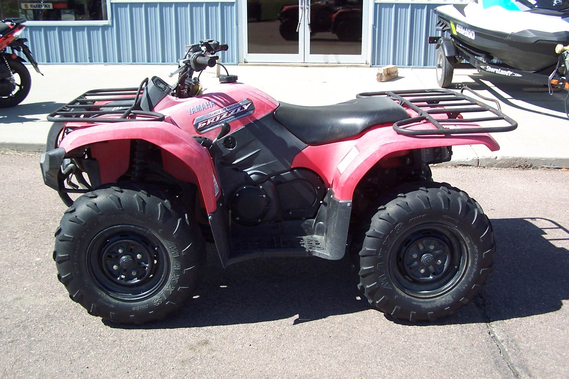 Yamaha Grizzly 450 >> Used 2013 Yamaha Grizzly 450 Auto 4x4 Eps Atvs In Yankton Sd