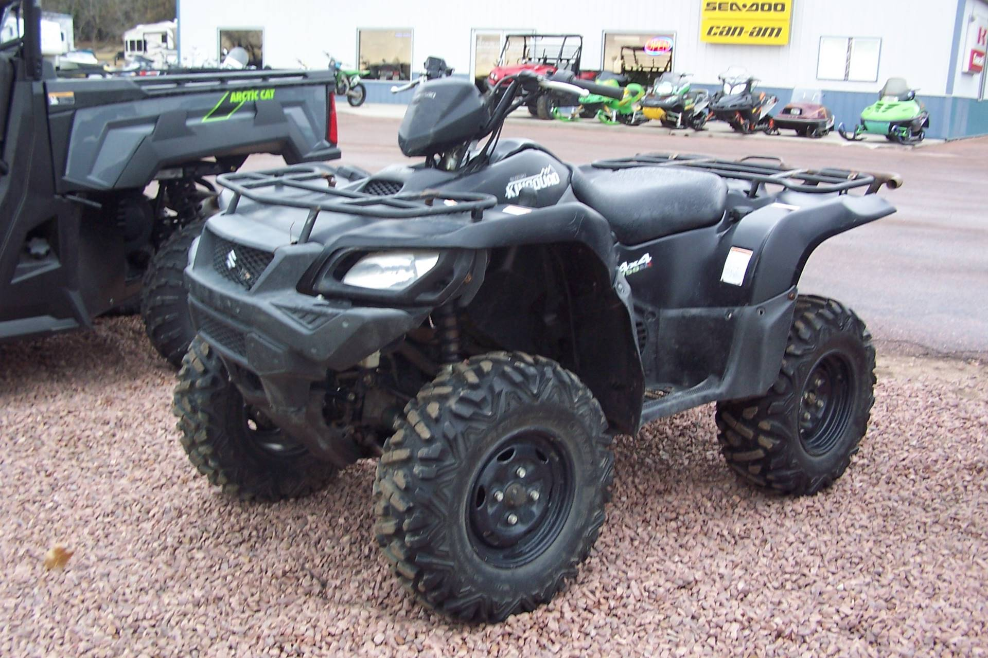2017 Suzuki KingQuad 750AXi Power Steering Special Edition in Yankton, South Dakota - Photo 1