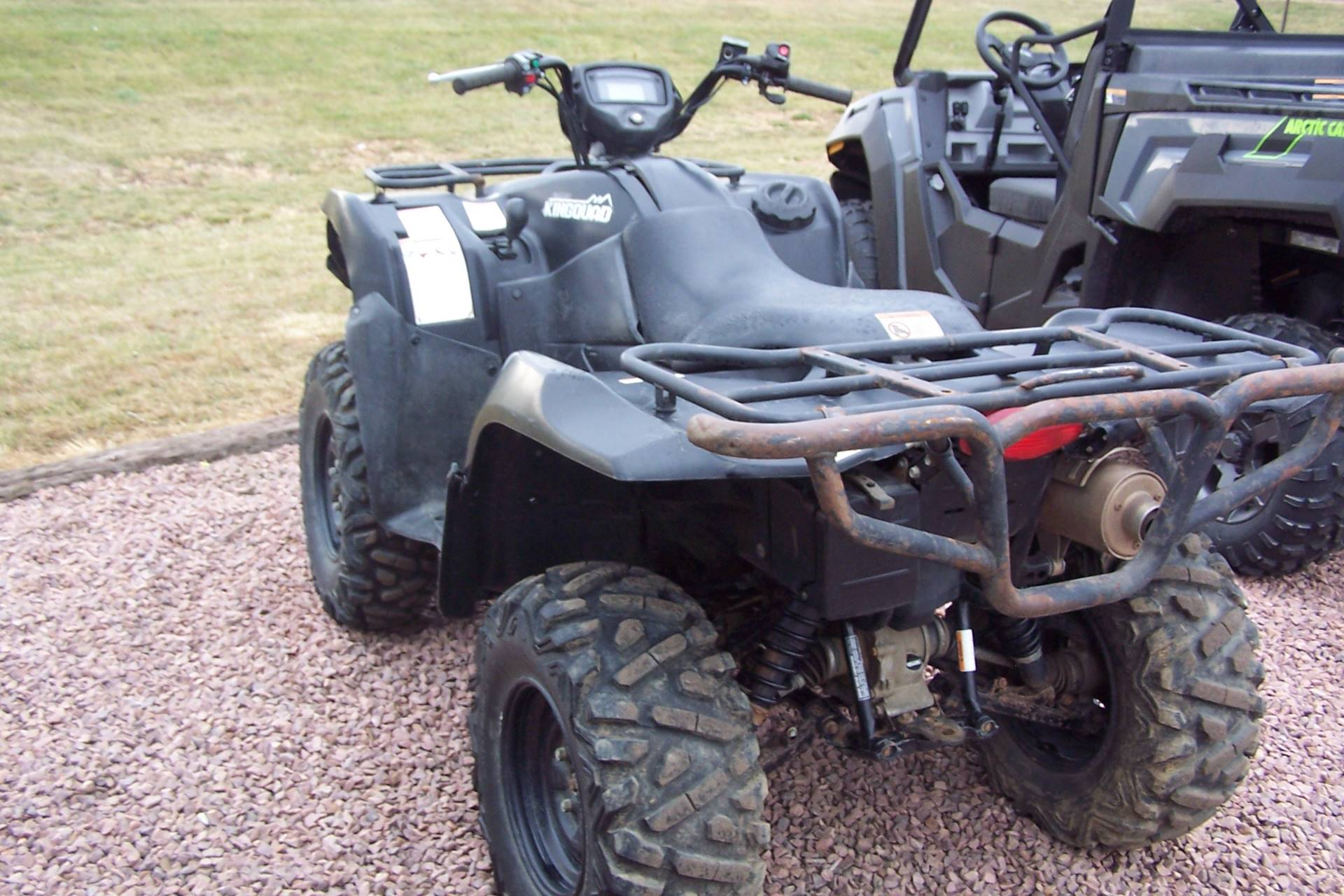 2017 Suzuki KingQuad 750AXi Power Steering Special Edition in Yankton, South Dakota - Photo 4