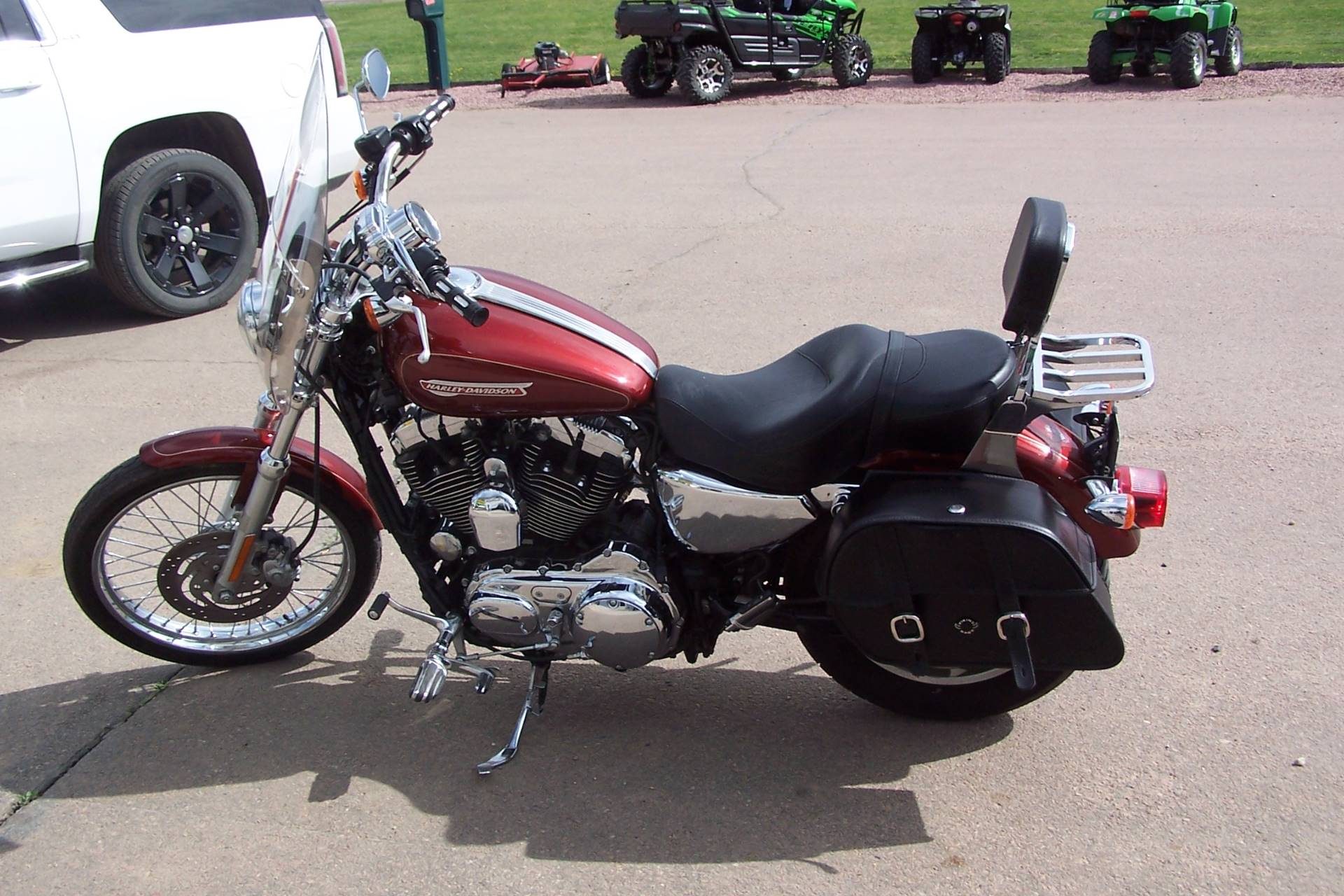 2009 Harley-Davidson Sportster® 1200 Custom in Yankton, South Dakota - Photo 4