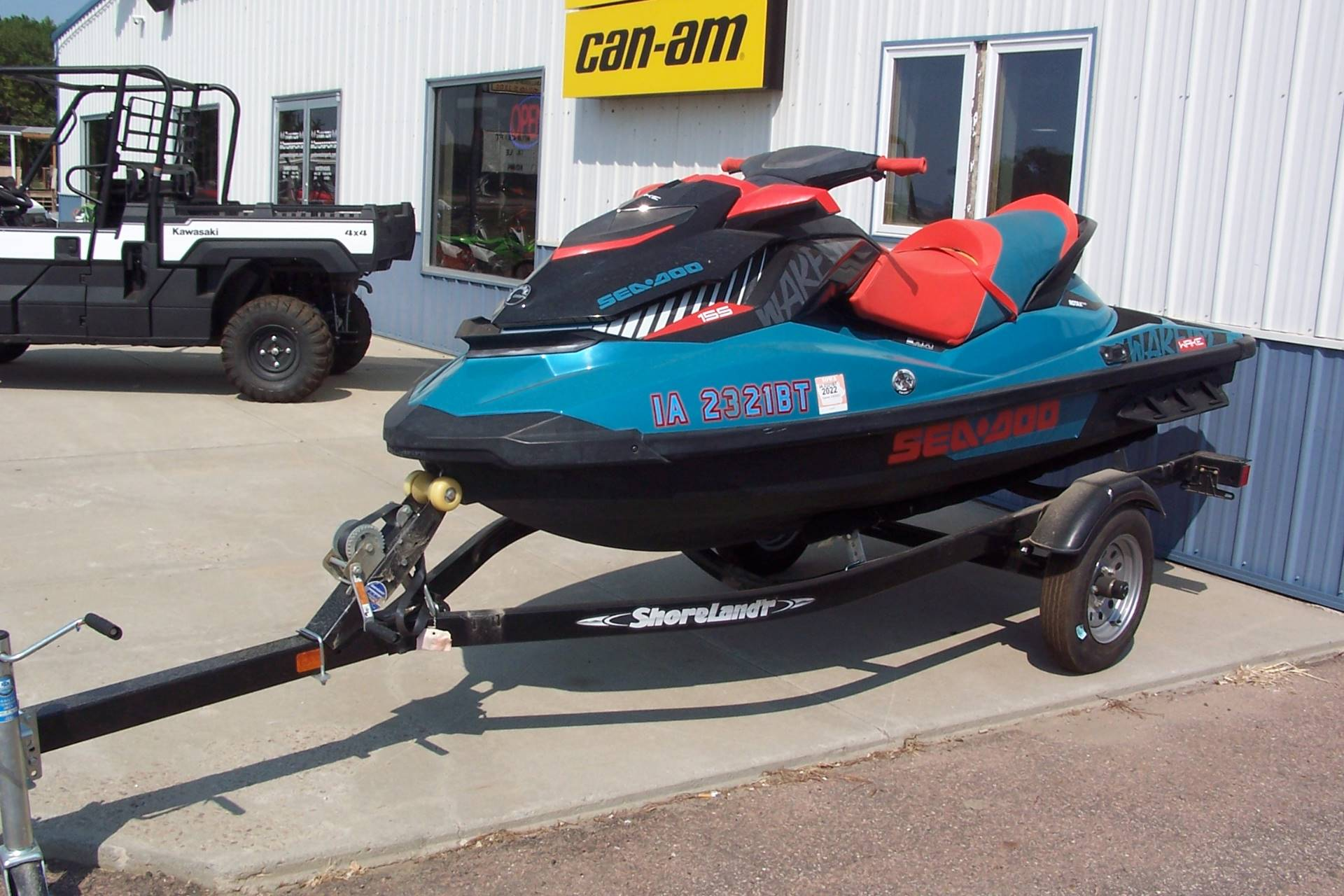 2019 Sea-Doo WAKE 155 iBR in Yankton, South Dakota - Photo 1