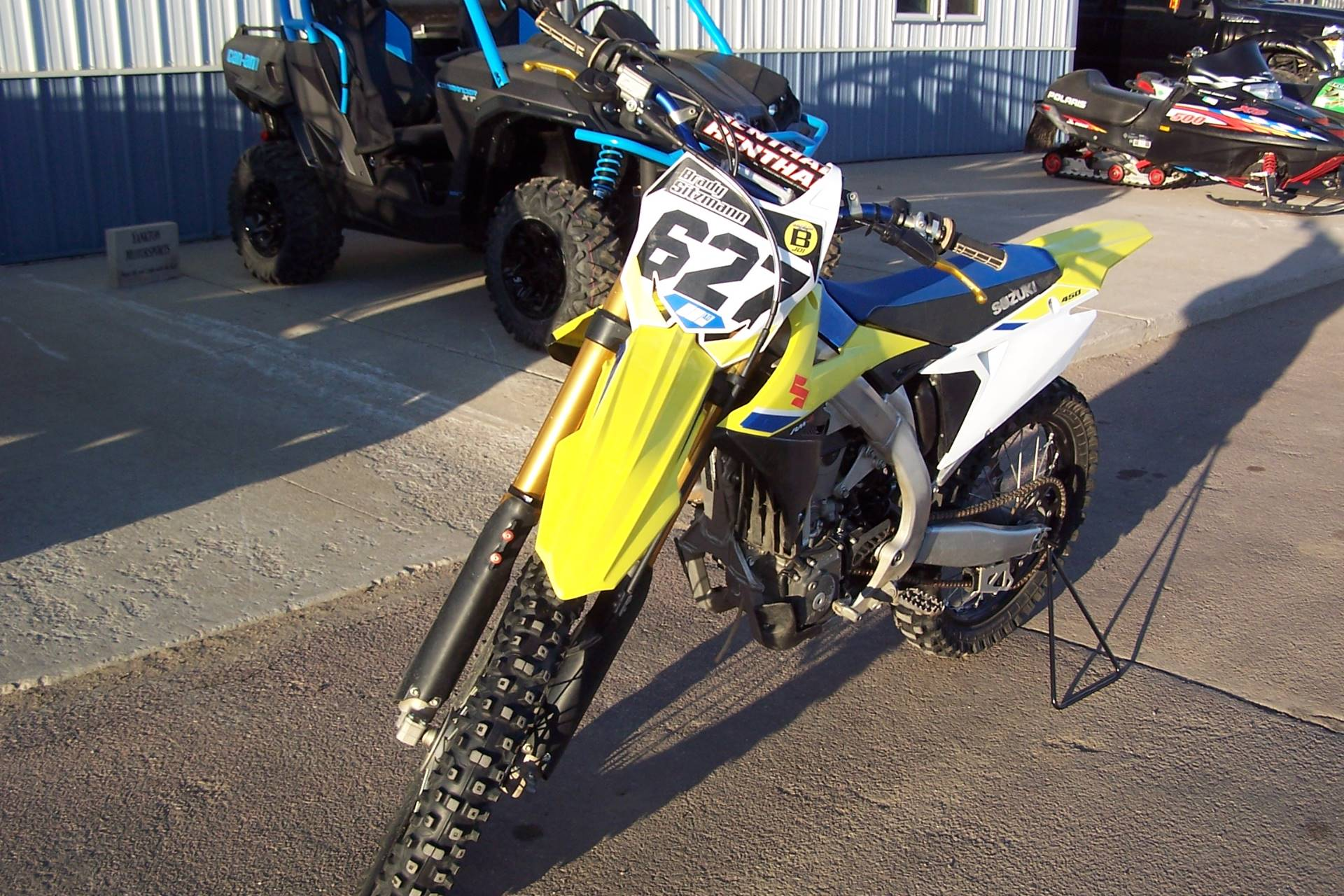 2018 Suzuki RM-Z450 in Yankton, South Dakota - Photo 2