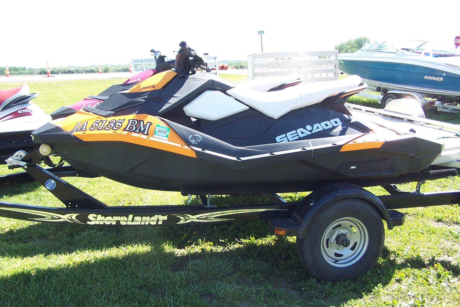 2014 Sea-Doo Spark™ 3up 900 H.O. ACE™ Convenience Package in Yankton, South Dakota