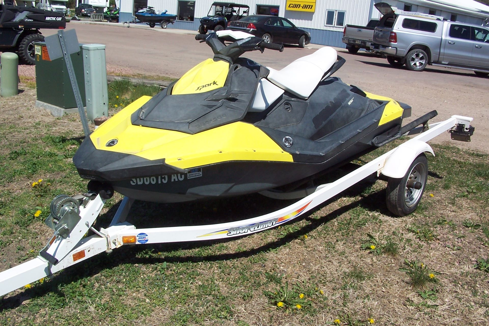 2015 Sea-Doo Spark™ 2up 900 H.O. ACE™ iBR Convenience Package in Yankton, South Dakota - Photo 2