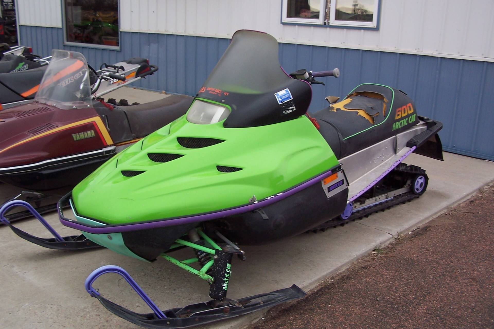 1996 Arctic Cat ZRT 600 in Yankton, South Dakota - Photo 2