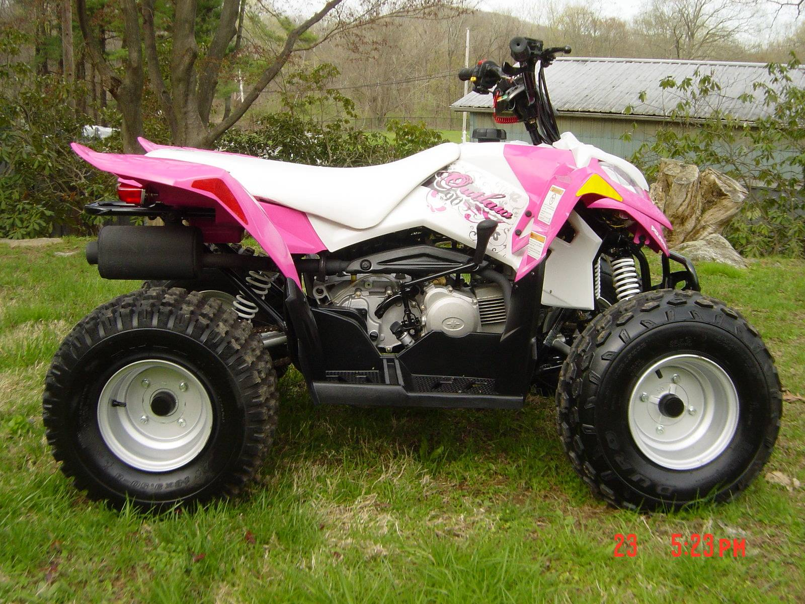 2014 Polaris Outlaw® 90 in Brewster, New York - Photo 9