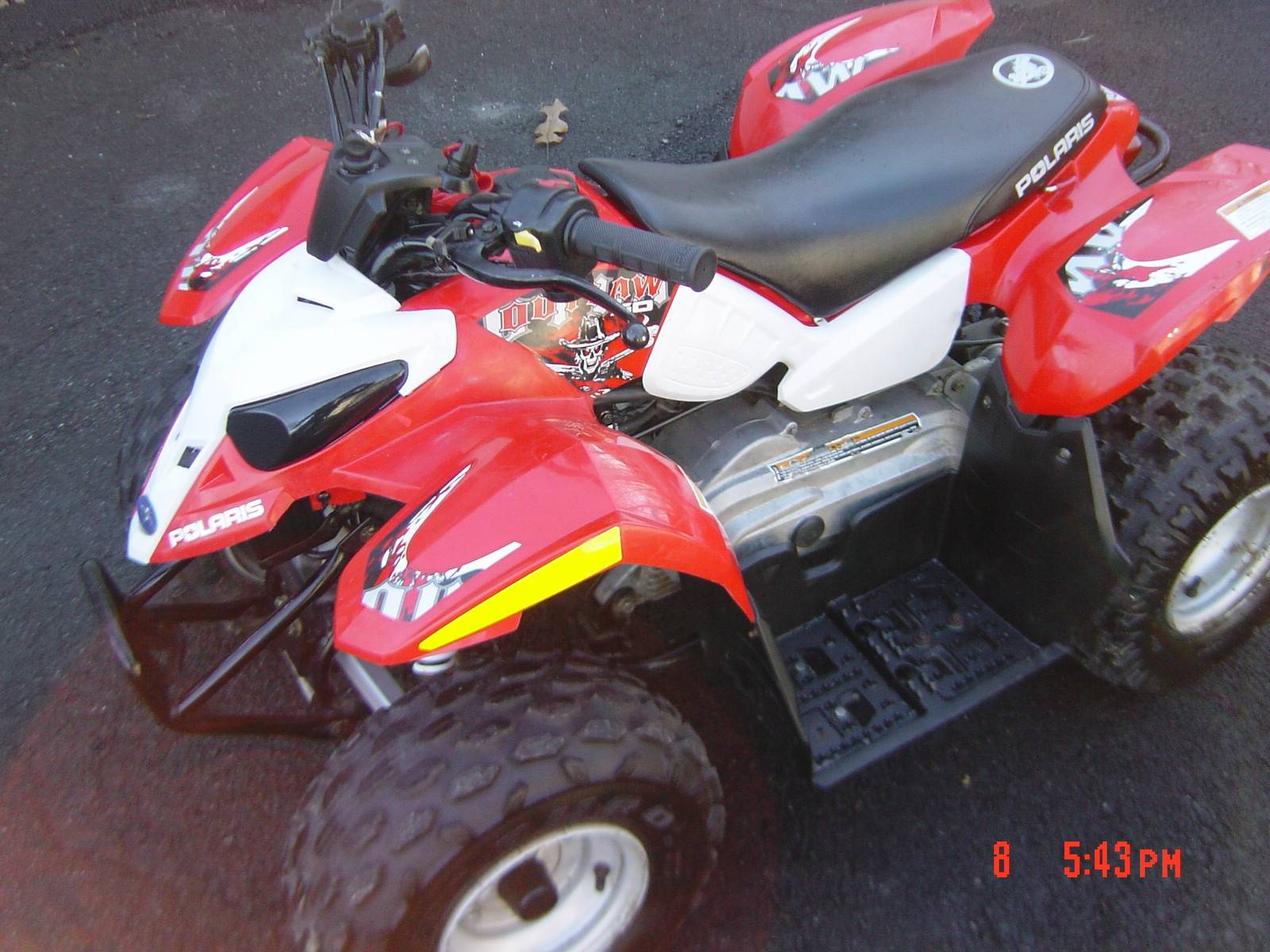 2008 Polaris Outlaw™ 50 in Brewster, New York