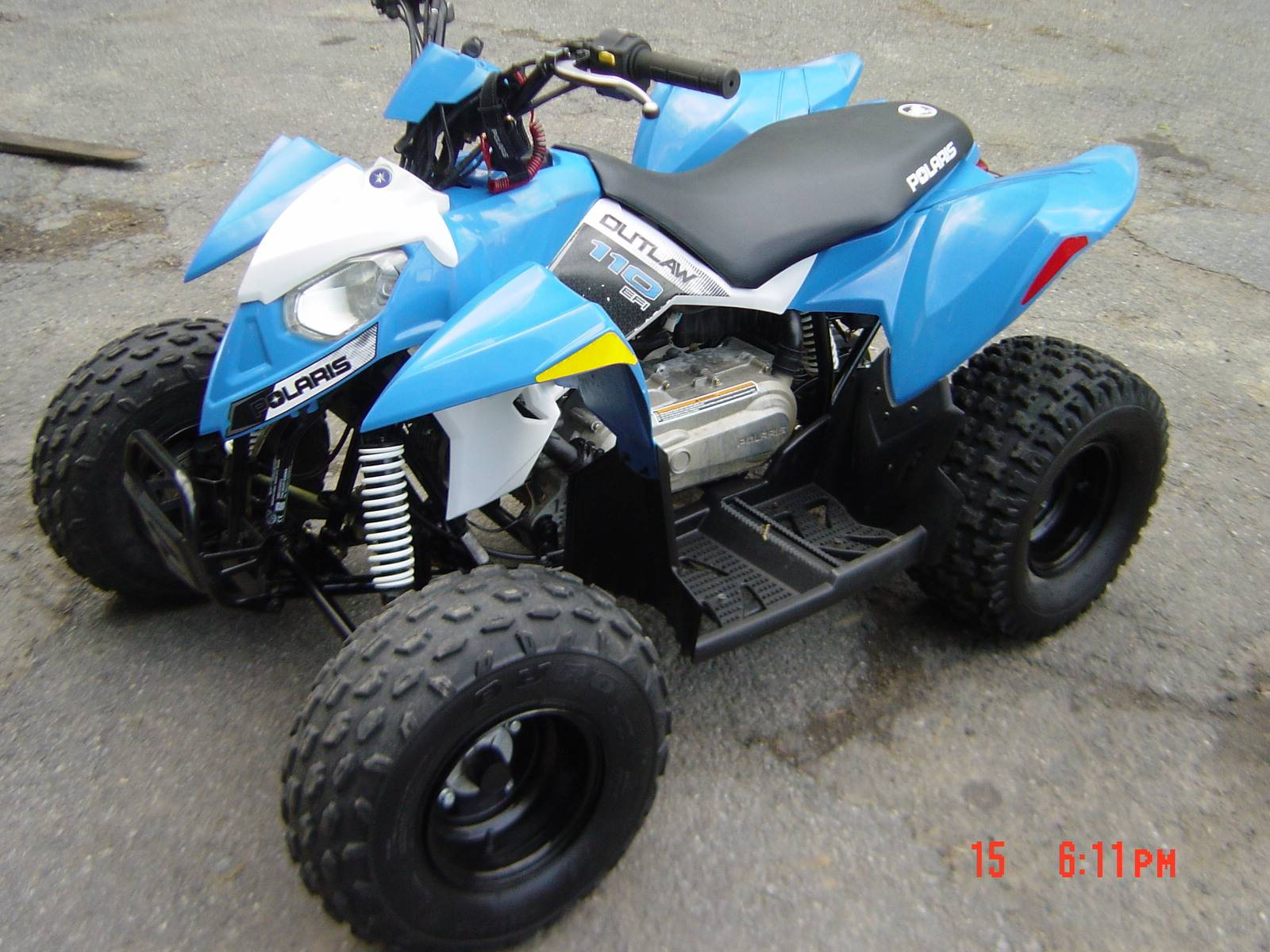 2016 Polaris Outlaw 110 EFI in Brewster, New York - Photo 1