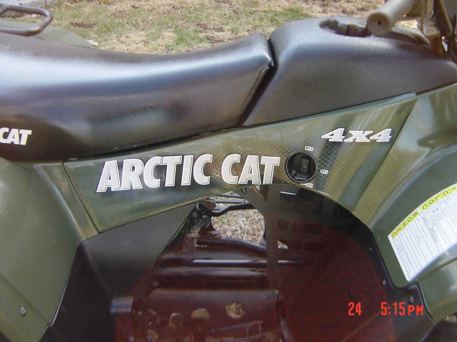 2004 Arctic Cat 250 4x4 in Brewster, New York - Photo 20