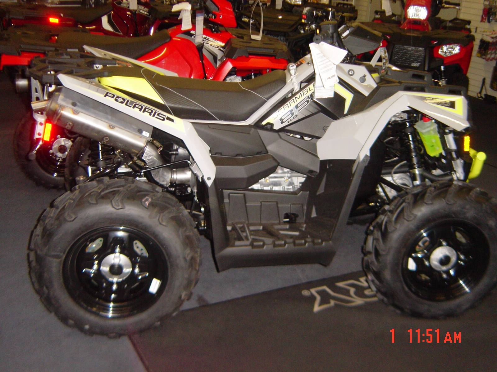 2019 Polaris Scrambler 850 in Brewster, New York - Photo 1