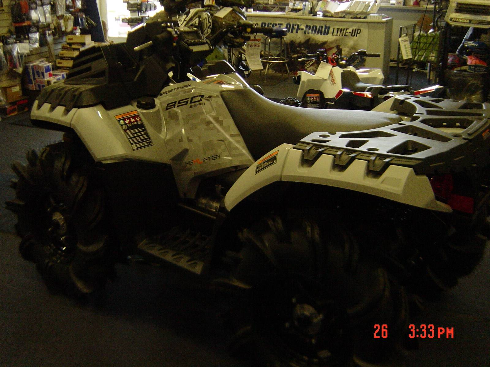 2021 Polaris Sportsman 850 High Lifter Edition in Brewster, New York - Photo 2