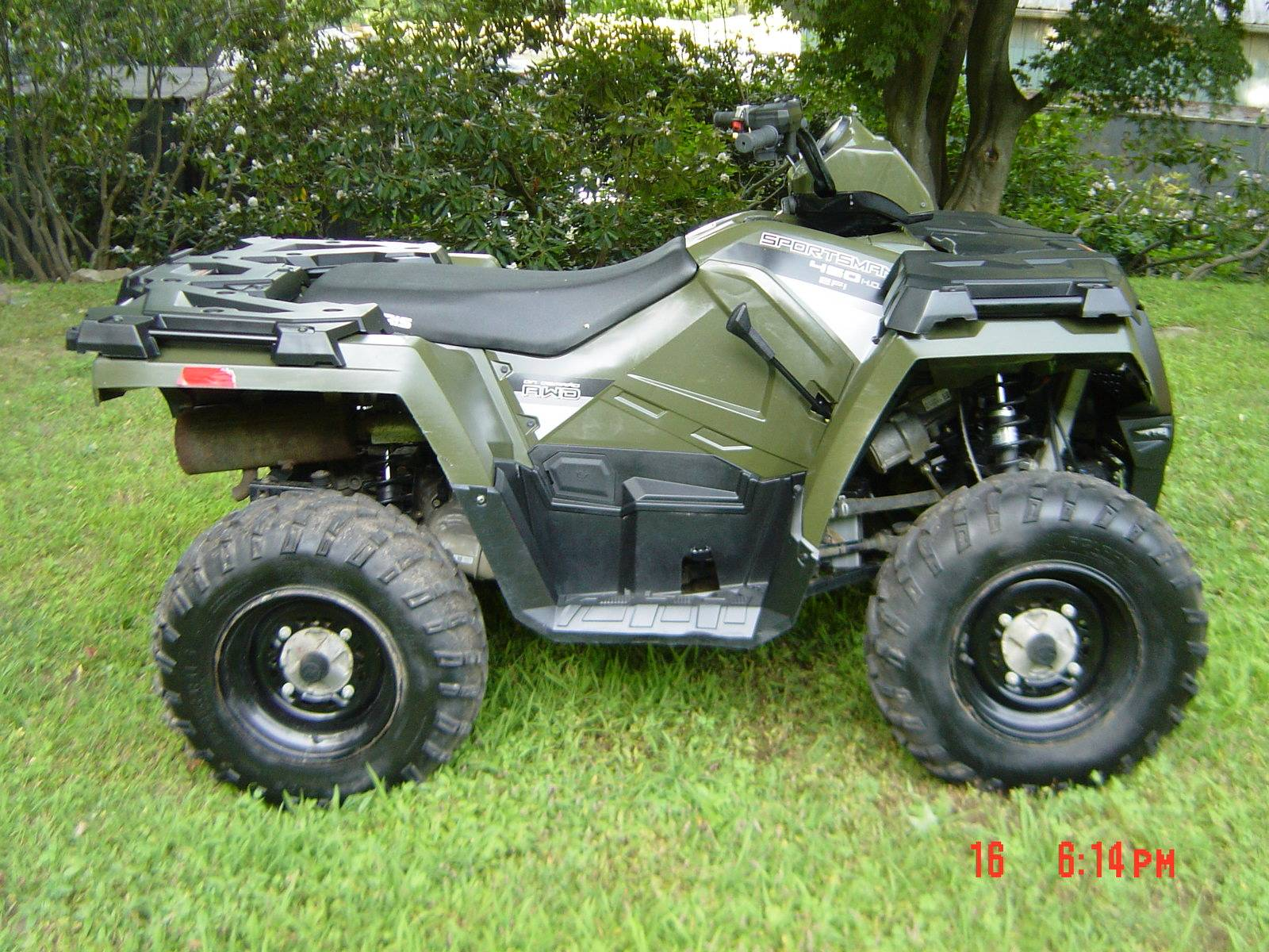2016 Polaris Sportsman 450 H.O. EPS in Brewster, New York - Photo 2