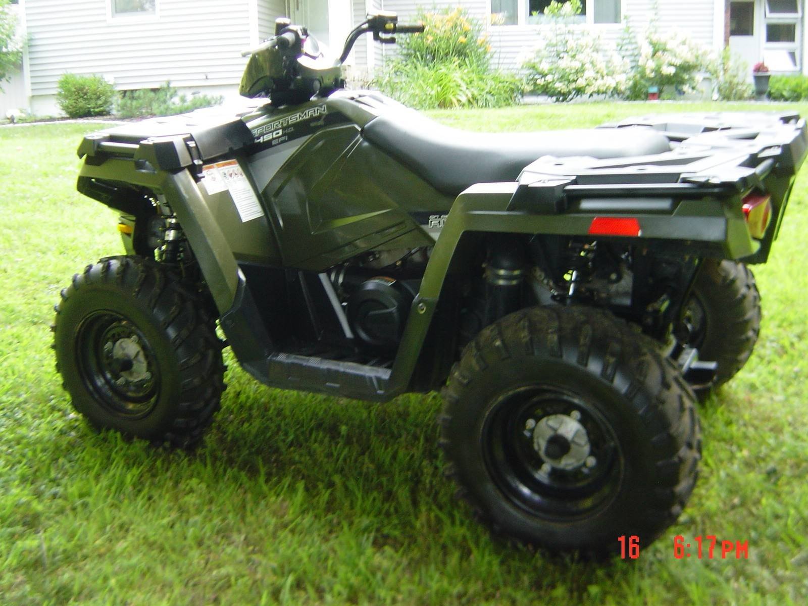 2016 Polaris Sportsman 450 H.O. EPS in Brewster, New York - Photo 17