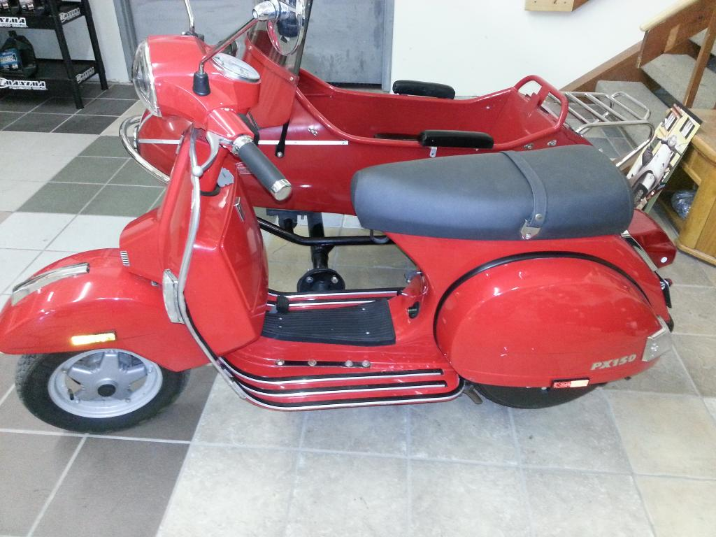 2005 Vespa PX 150 in Edwardsville, Illinois