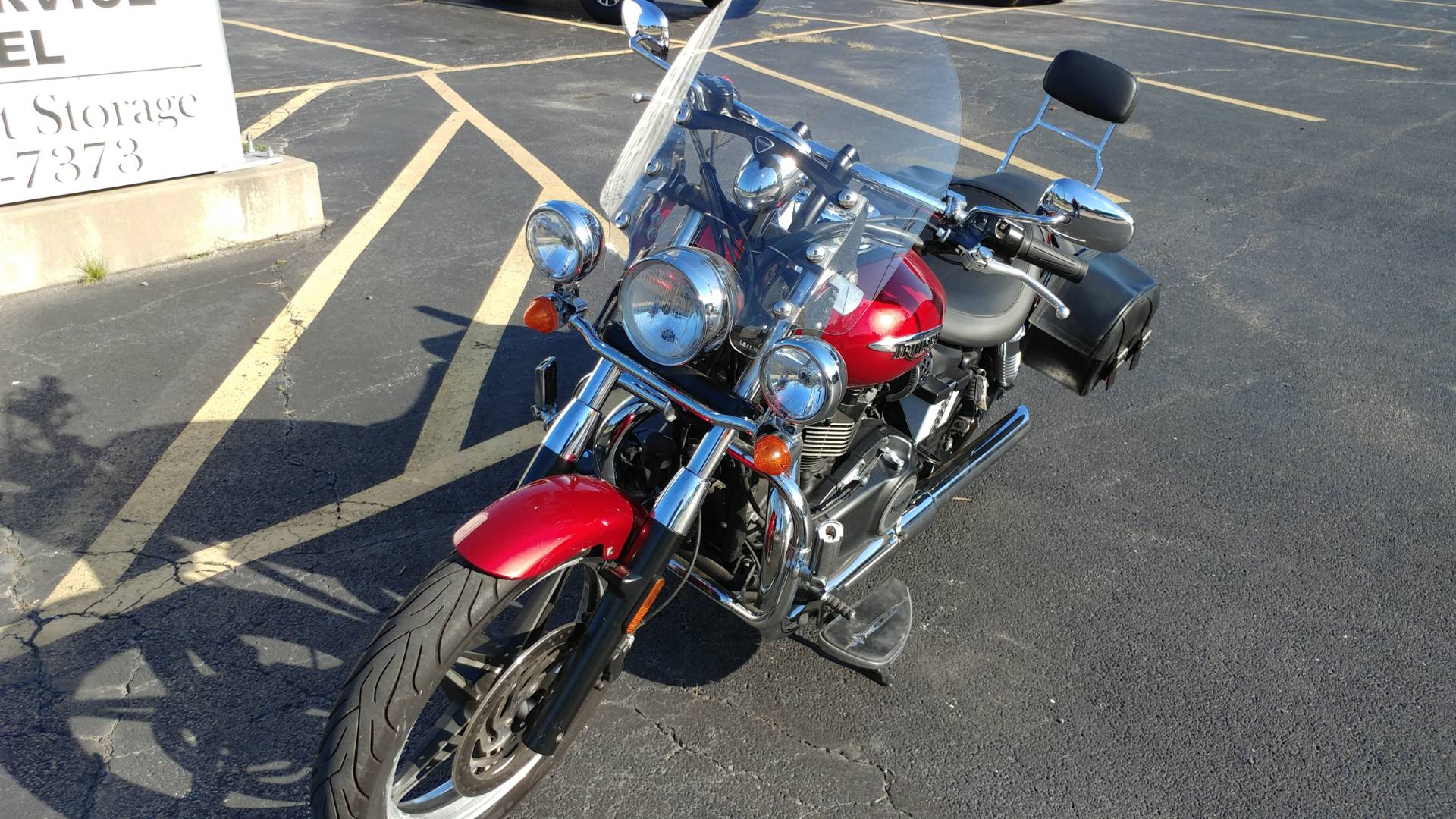 2012 Triumph Speedmaster in Edwardsville, Illinois - Photo 1