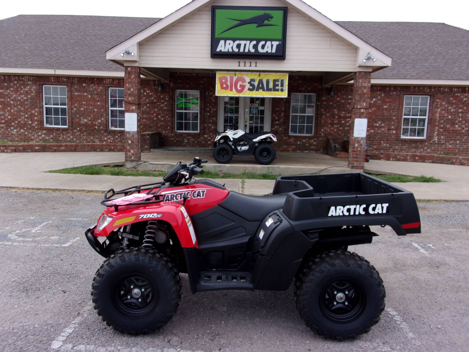 2017 Arctic Cat Tbx 700 Eps In Melissa Texas Photo 1