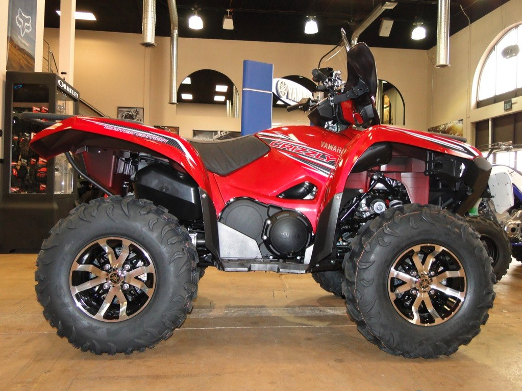 2016 Yamaha Grizzly EPS LE in Denver, Colorado