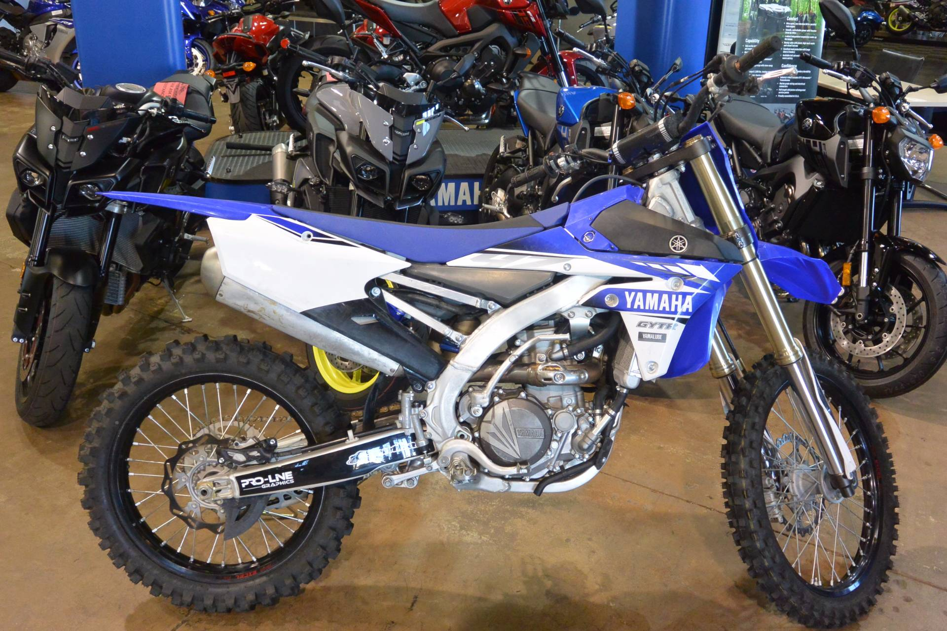 2017 Yamaha YZ450FHL in Denver, Colorado