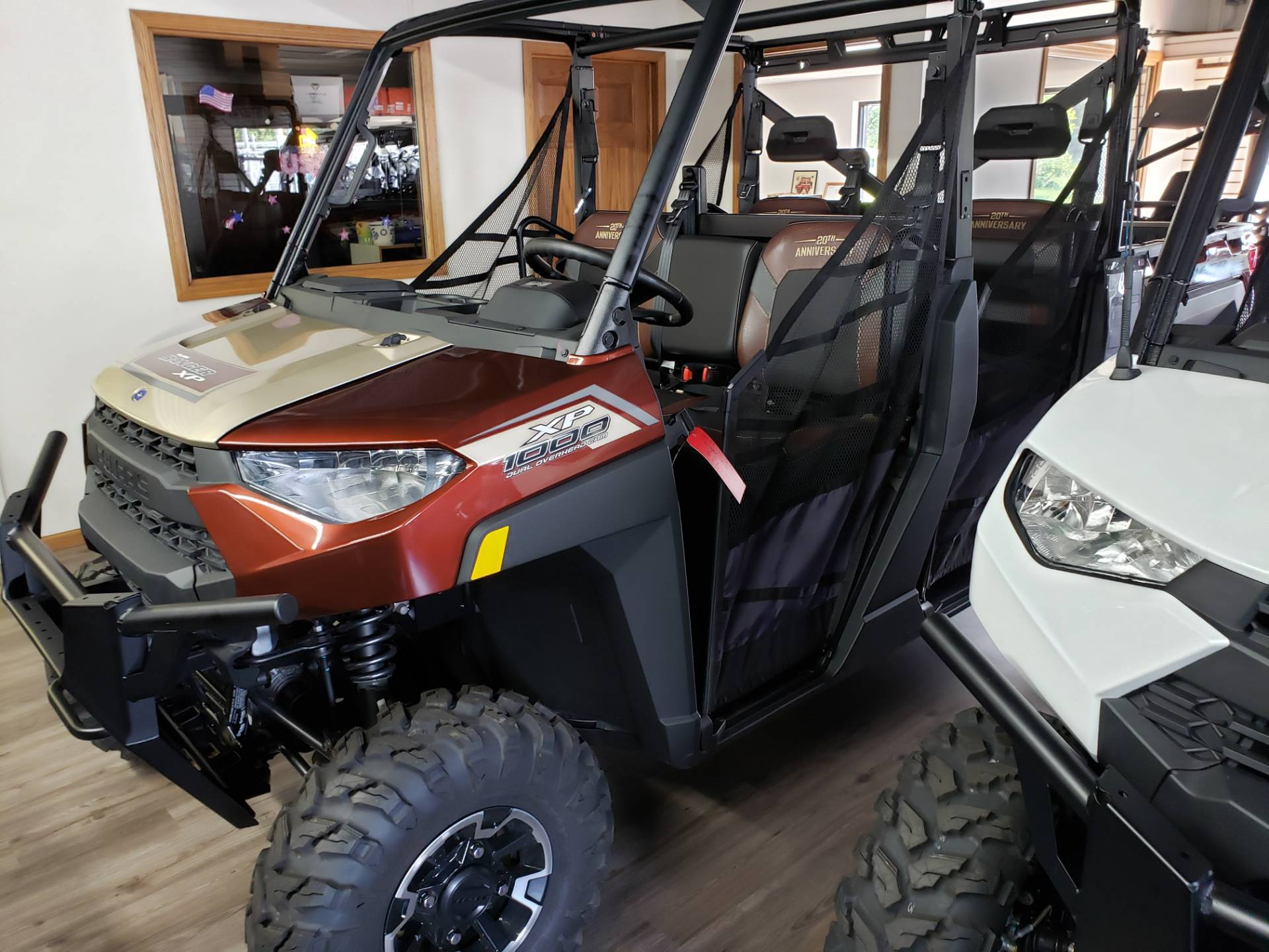 2019 Polaris Ranger Crew XP 1000 EPS 20th Anniversary Limited Edition in Union Grove, Wisconsin - Photo 3