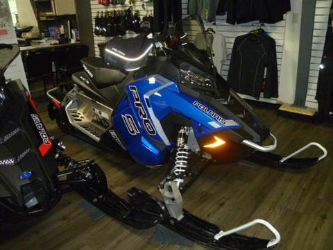 2018 Polaris 600 RUSH PRO-S ES in Union Grove, Wisconsin