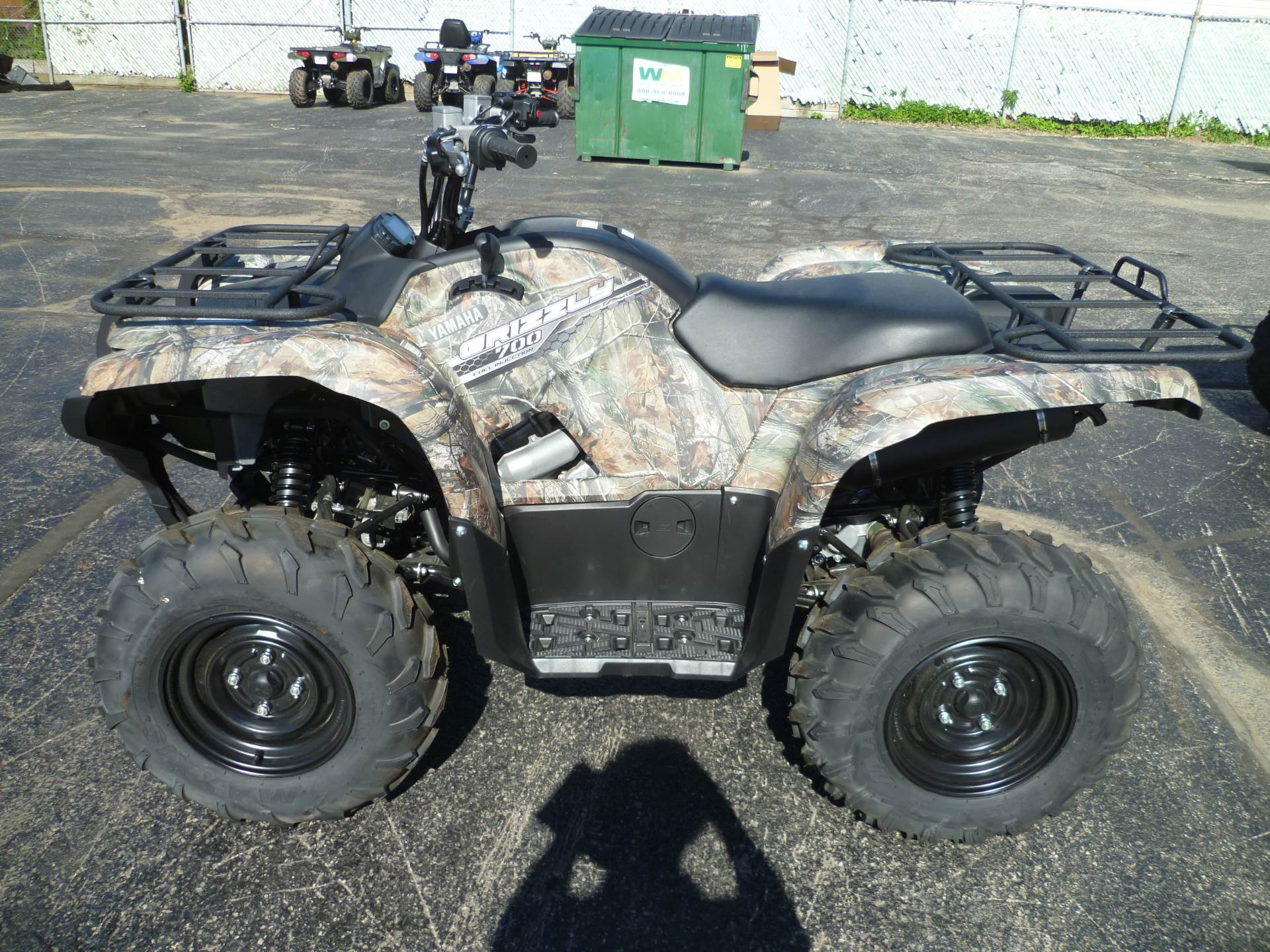 2014 yamaha grizzly 700 fi auto 4x4 for sale for Yamaha grizzly 80