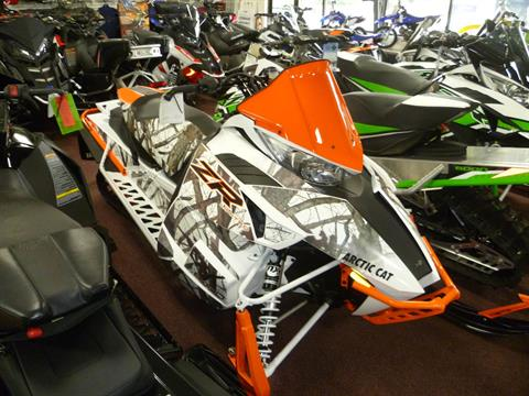 2017 Arctic Cat ZR 8000 Limited ES 129 Orange in Union Grove, Wisconsin