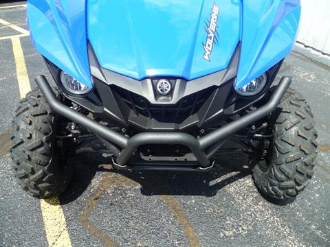2017 Yamaha Wolverine EPS in Union Grove, Wisconsin