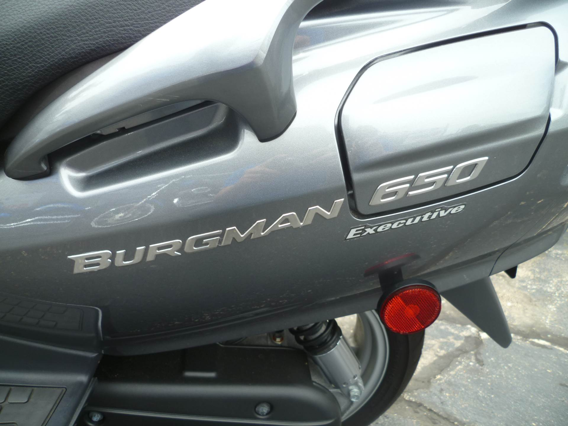 2011 Suzuki Burgman™ 650 Exec in Union Grove, Wisconsin