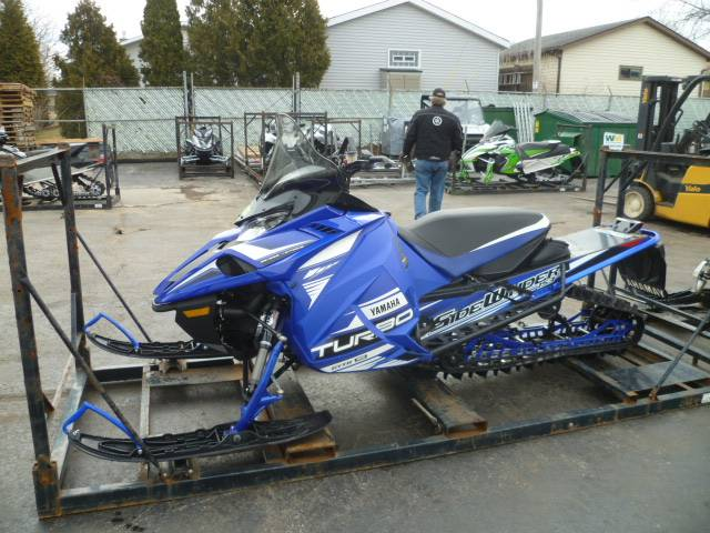 2017 Yamaha Sidewinder B-TX LE in Union Grove, Wisconsin