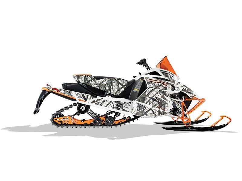 2017 Arctic Cat ZR 6000 Limited ES 129 Orange in Union Grove, Wisconsin