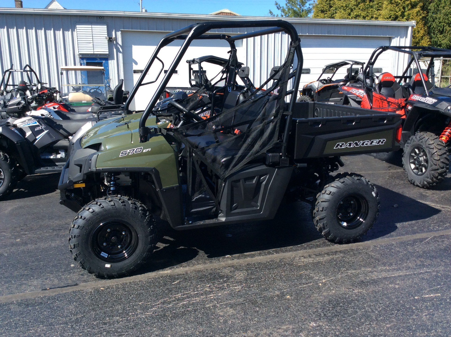 2020 Polaris Ranger 570 Full-Size in Union Grove, Wisconsin - Photo 1