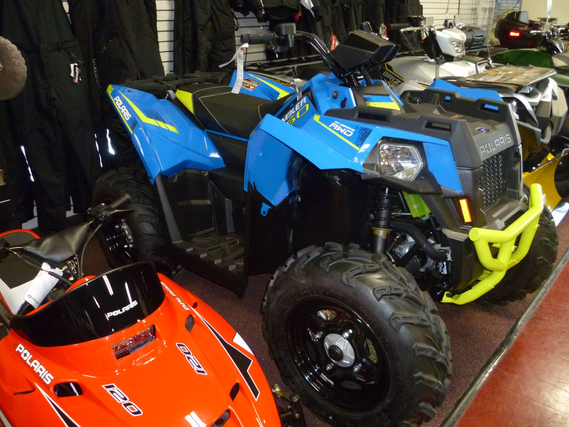 Find product information, MSRP, trims and colors for Polaris Scrambler The ultimate race proven sport quad with a leading 78 HP ProStar Twin EFI Engine.