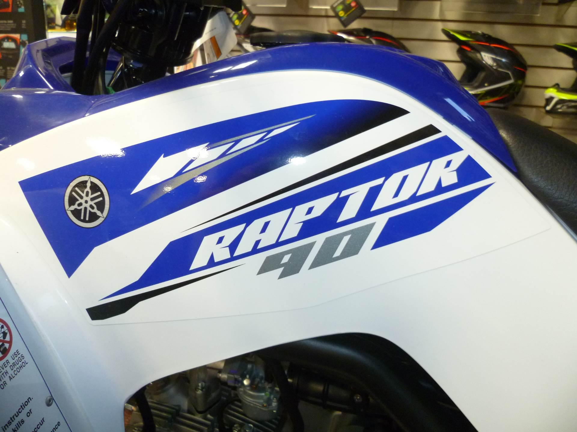 2017 Yamaha Raptor 90 4