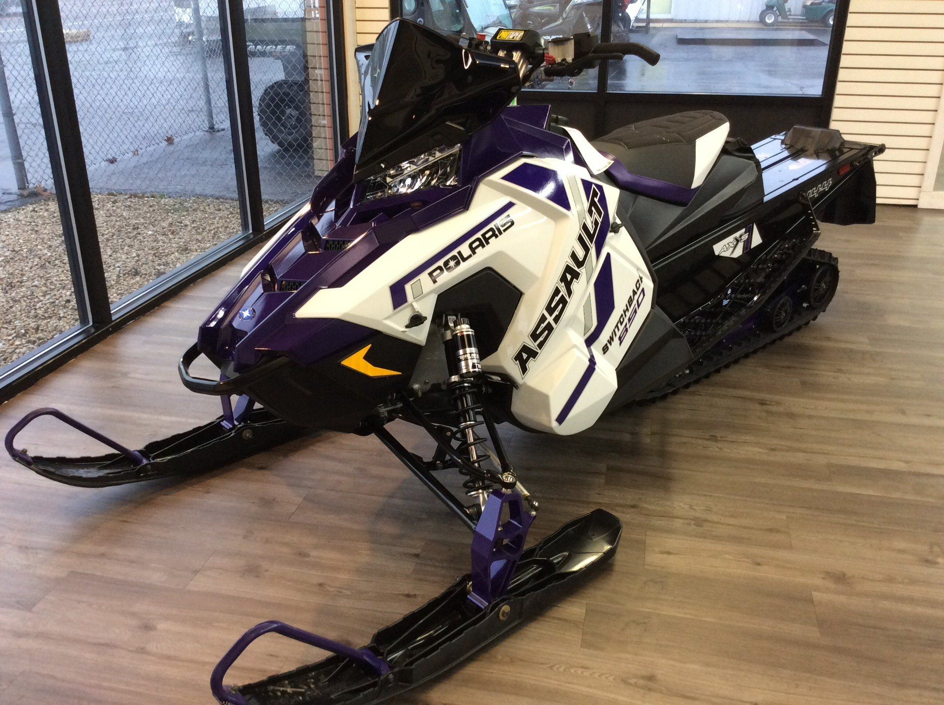 2021 Polaris 850 Switchback Assault 144 Factory Choice in Union Grove, Wisconsin - Photo 2