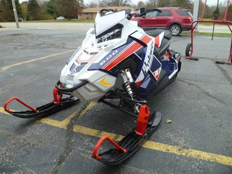 2018 Polaris 600 RUSH PRO-S SnowCheck Select 1.35 in Union Grove, Wisconsin