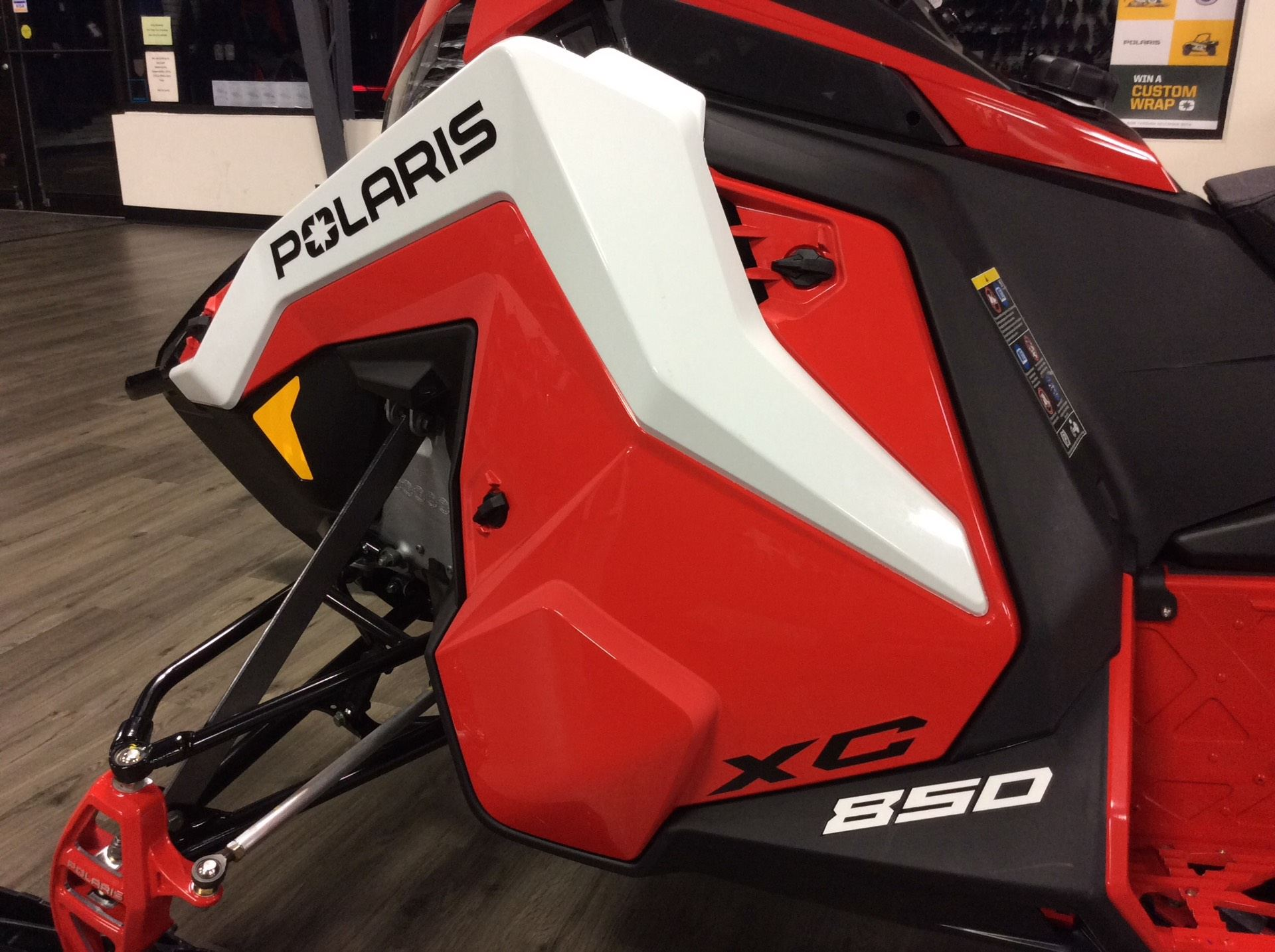 2021 Polaris 850 Indy XC 137 Launch Edition Factory Choice in Union Grove, Wisconsin - Photo 8