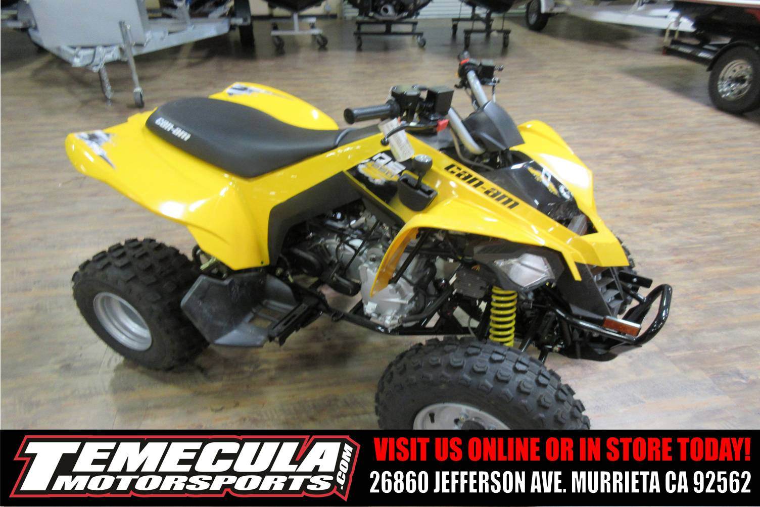 New 2018 Can-Am DS 250 ATVs in Murrieta, CA | Stock Number: C024056