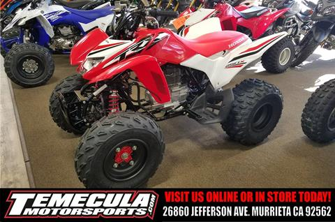 2017 Honda TRX250X Special Edition in Murrieta, California