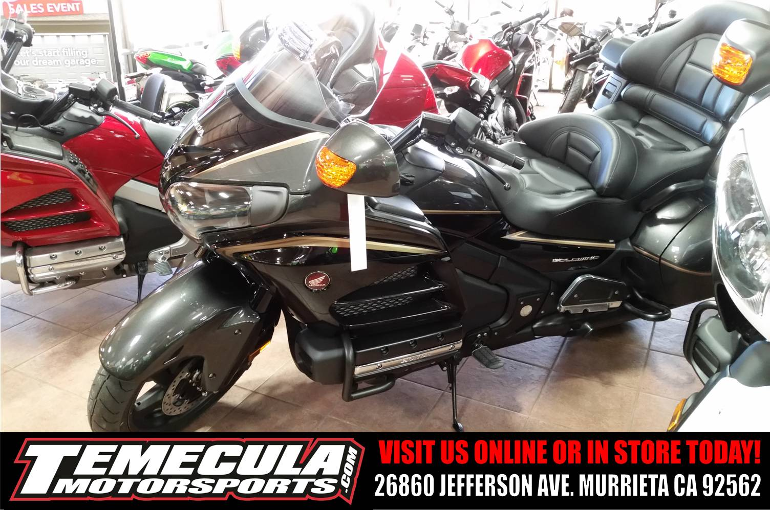 2016 Honda Gold Wing Navi XM ABS in Murrieta, California