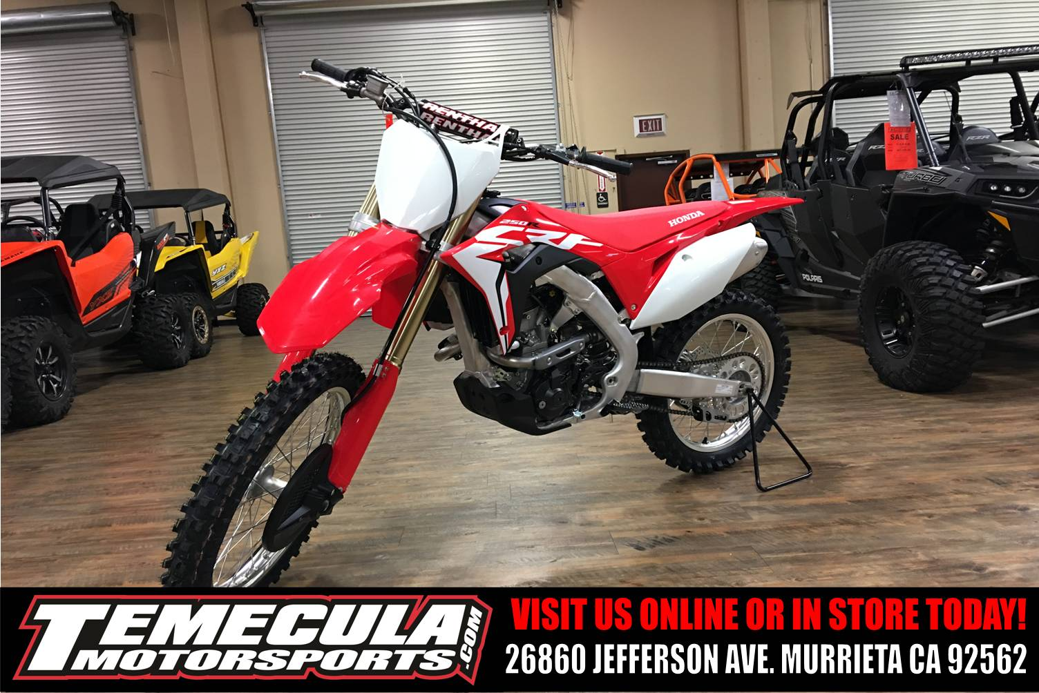 2018 Honda CRF250R in Murrieta, California