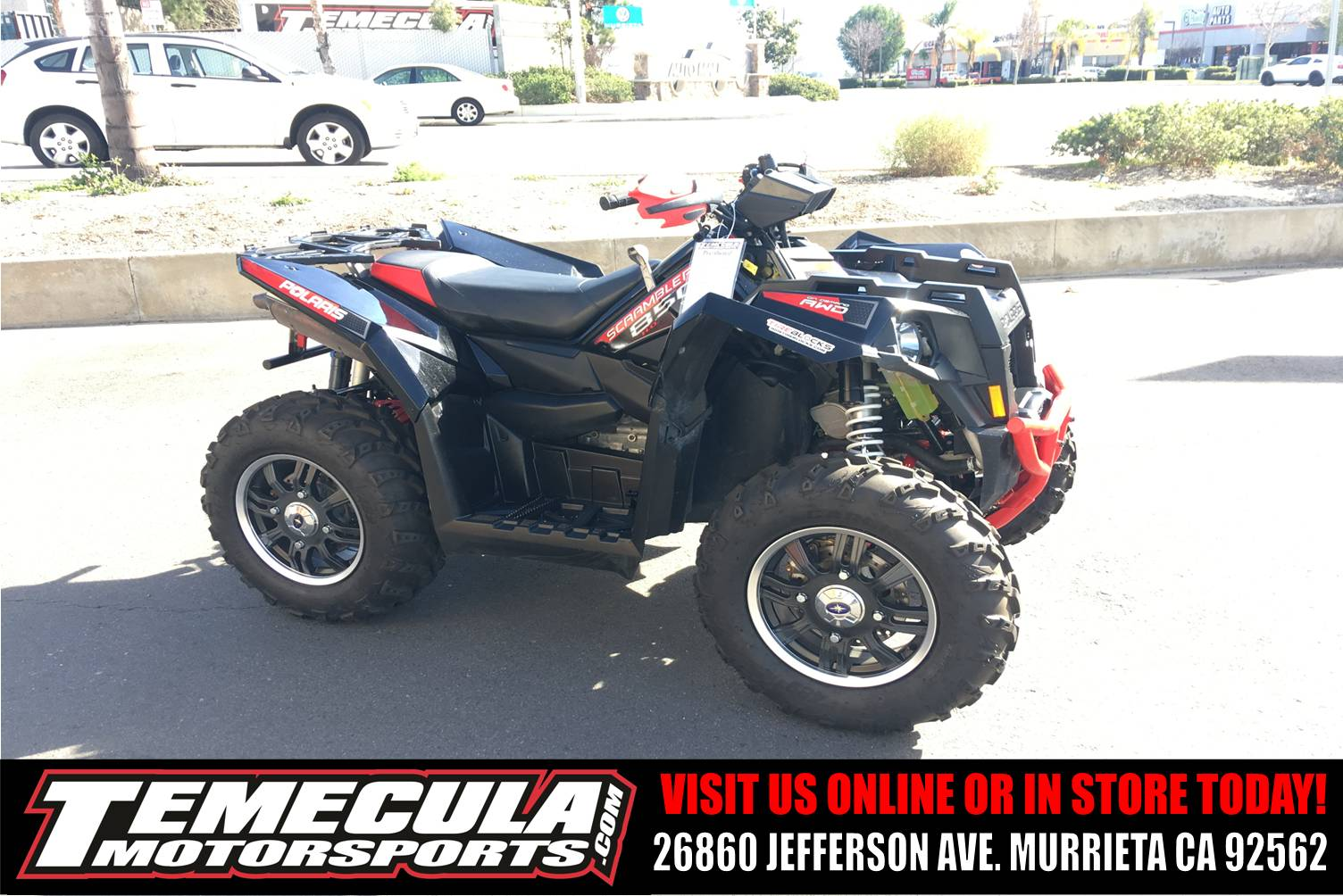 2013 Polaris Scrambler® XP 850 H.O. EPS LE in Murrieta, California