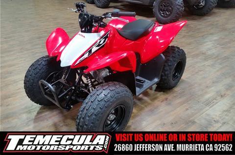 2017 Honda TRX90X in Murrieta, California